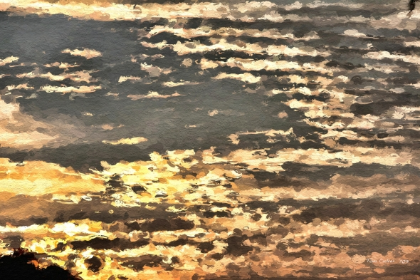 Clouds In Sunset